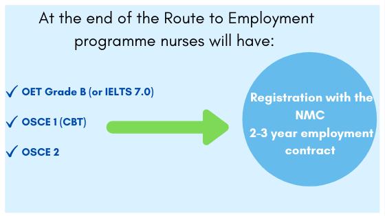 Work in the UK nurse