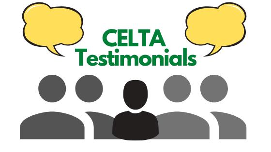 CELTA testimonial