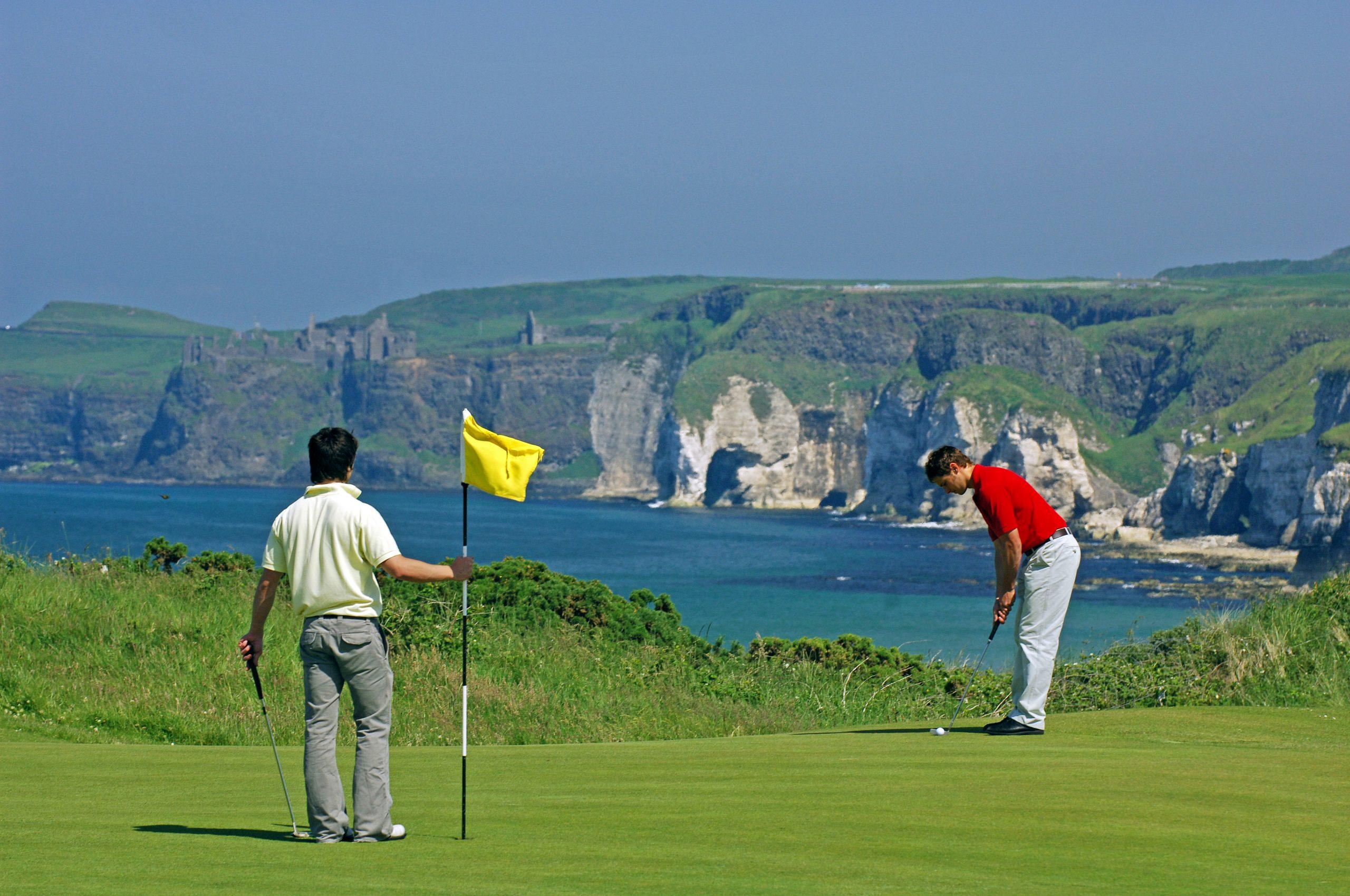 english and golf