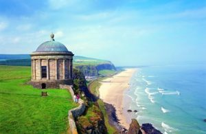 Mussenden Temple, Co. Derry. Photo: Tourism Ni