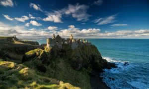 Dunluce Castle - Causeway Coast N. Ireland. Image: Discover Northern Ireland