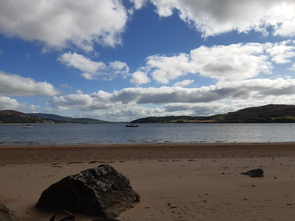 beach view of rathmullan, county donegal