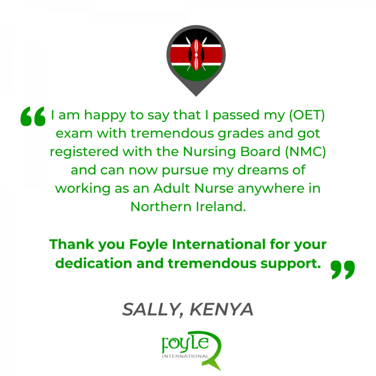 oet success story from kenya